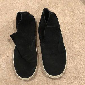 Dolce Vita black slip on sneaker